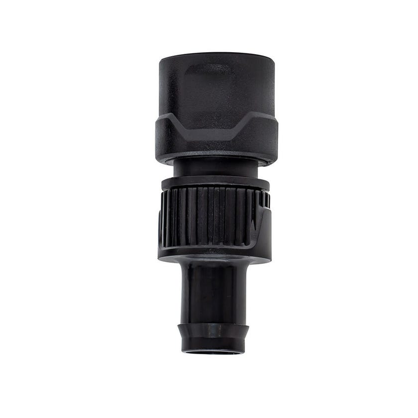 NETA 19mm Barb x 12mm Click-on Hose Connector