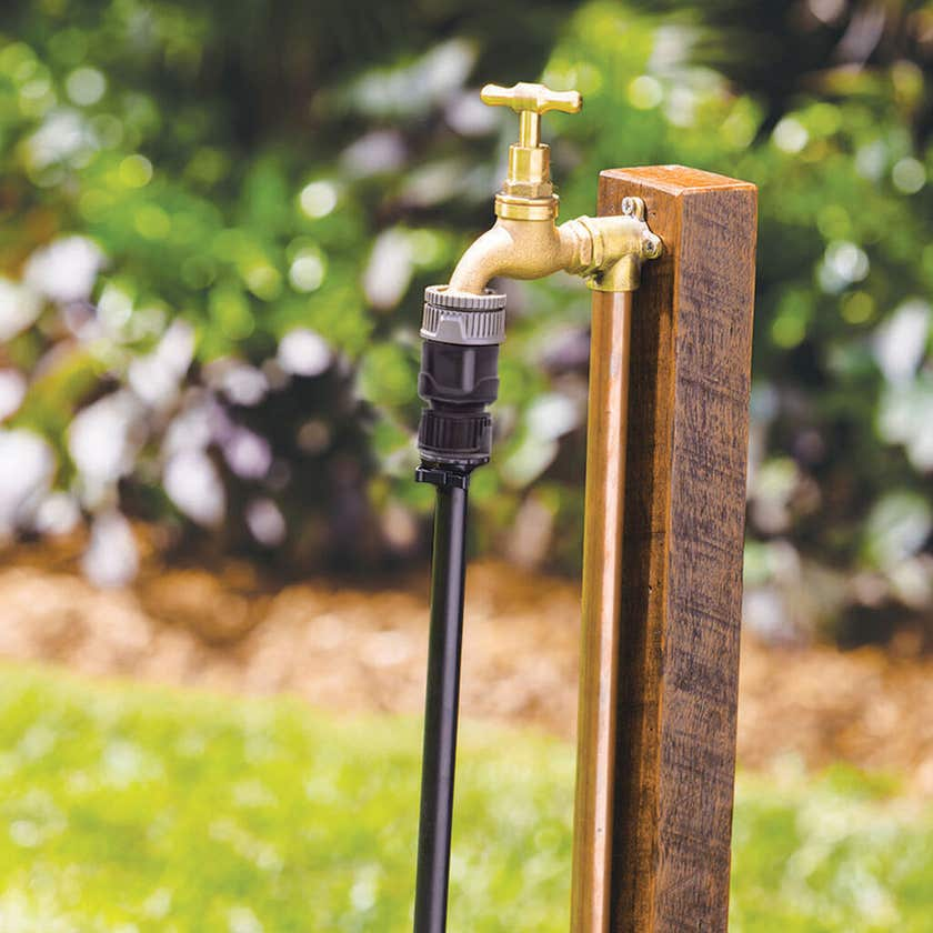 NETA 19mm Barb x 12mm Click-on Hose Connector