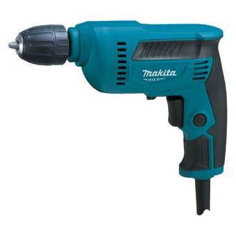 Makita MT Series 450W 10mm Keyless Chuck Drill
