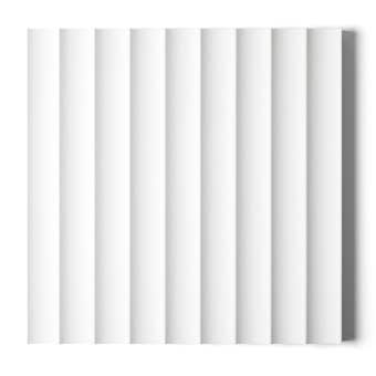 Surround by Laminex Scallop 45 Primed Wall Panel 12mm