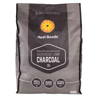 Heat Beads Hardwood Lump Charcoal 10kg