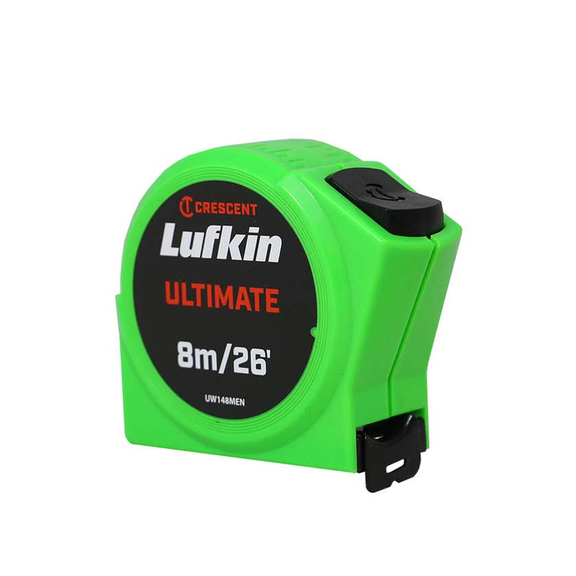 Crescent Lufkin Ultimate Tape Measure 8m/26' x 25mm