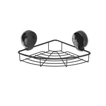Ultraloc Corner Shelf Black
