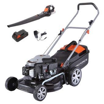 Yard Force Combo Garden Kit Lawn Mower & 24V Blower