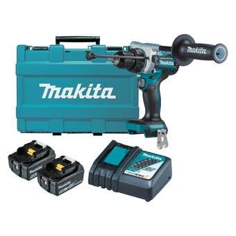 Makita 18V Brushless Hammer Drill Kit DHP486RTE
