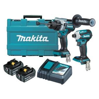 Makita 18V 6.0Ah Brushless Combo Kit - 2 Piece DLX2411G