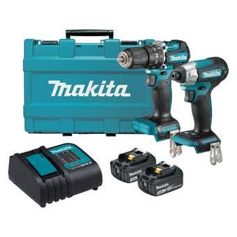 Makita 18V Brushless 2 Piece Combo Kit DLX2414S
