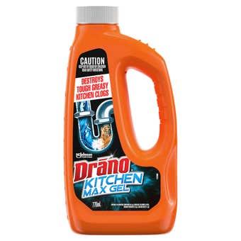 Drano Kitchen Max Gel Drain Cleaner 770mL
