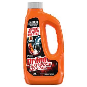 Drano Bathroom Max Gel Drain Cleaner 770mL