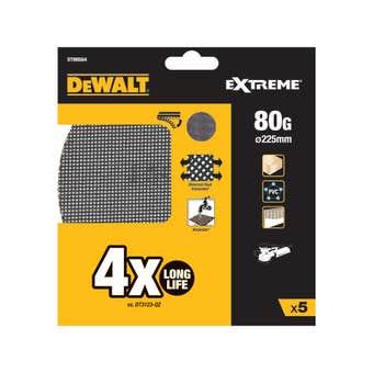Stanley FatMax Wall Sander Abrasive Mesh 225mm 80 Grit - 5 Pack