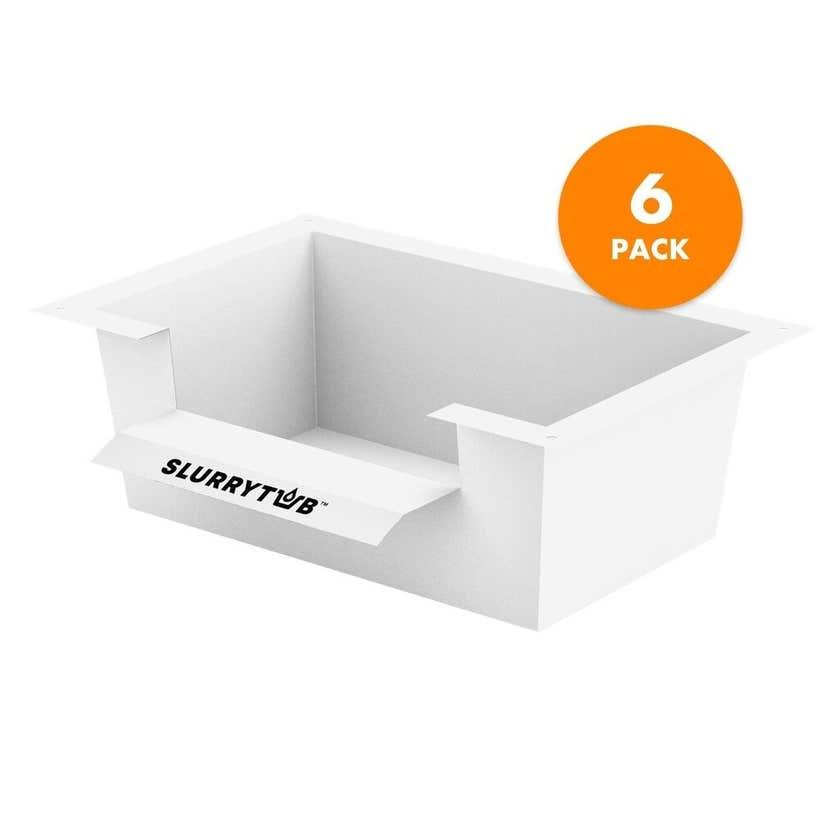 Slurrytub Biodegradable Filter - 6 Pack