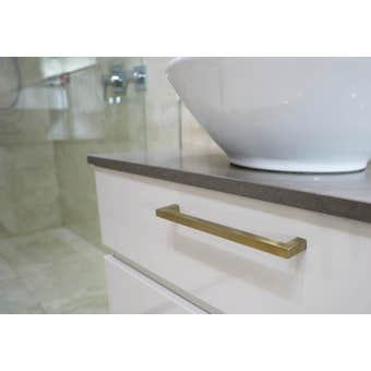 Superior Brass Cabinet Handle Satin Brass
