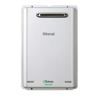 Rinnai Infinity Enviro Continuous Flow Hot Water System NG 50 Deg 26L