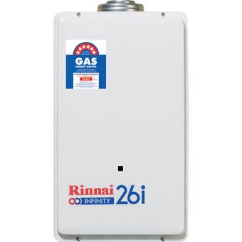 Rinnai Infinity Continuous Flow Hot Water System Internal LPG 26L