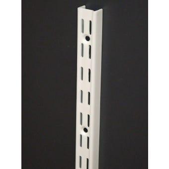 Strip Shelf Dbl Slt 420Mm White