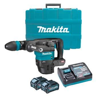Makita 40V Max Brushless SDS Max Demolition Hammer Kit HM001GM202