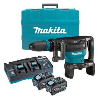 Makita 80V Max (40Vx2) Brushless SDS Max Demolition Hammer Kit HM002GT201