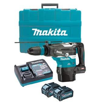 Makita 40V Max Brushless SDS Max Rotary Hammer Kit 40mm HR005GM201