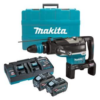 Makita 80V Max (40Vx2) Brushless SDS Max Rotary Hammer Kit 52mm HR006GT201