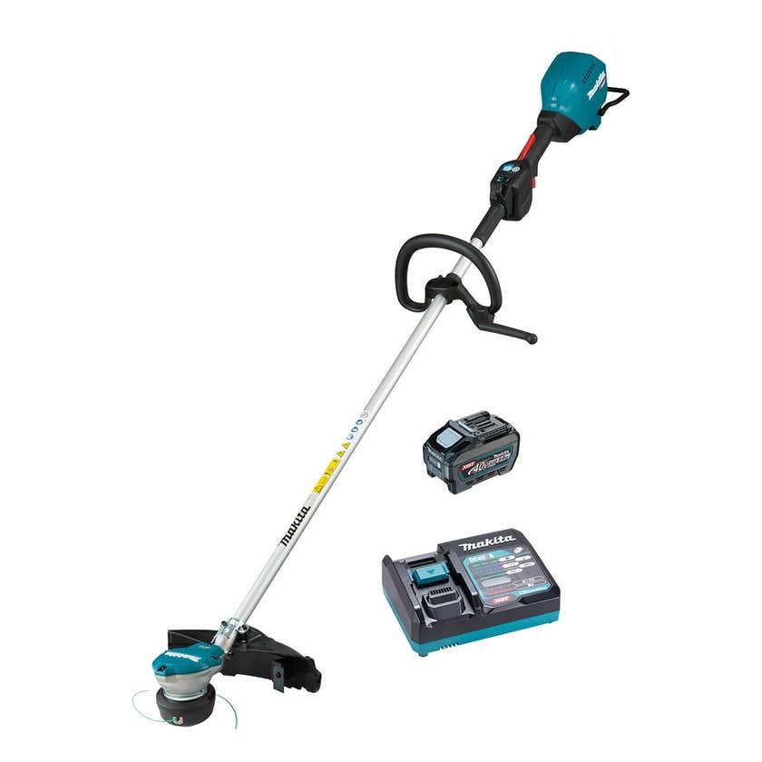Makita 40V Max 5.0Ah Brushless Loop Handle Brushcutter Kit UR003GT101