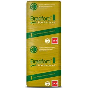 Bradford Gold High Performance R2.7 Wall Insulation Batts 1160 x 570mm - 5 Pack