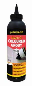Dunlop 800G Coloured Grout Jet Black