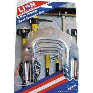 Tool Hanger Jumbo 3Pce Lion