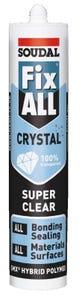 Soudal Fix All Sealant Crystal Clear 290ml