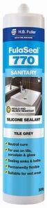 HB Fuller Fulaseal™ 770 Sanitary Sealant Tile Grey 300g
