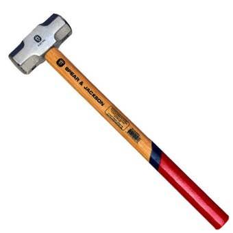 Spear & Jackson Sledge Hammer Hickory Handle 1.8kg