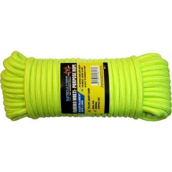 Rope Fluro Yellow 8mm X 20M