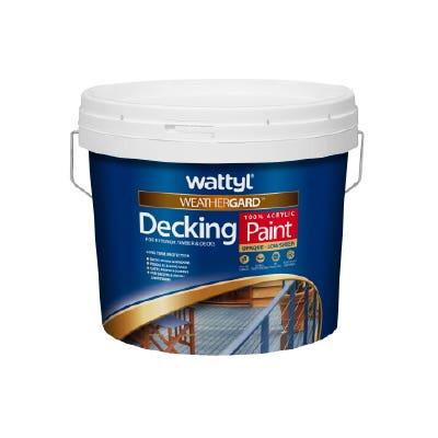 Weathergard Decking Paint Stb 10L
