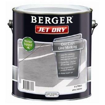 Berger Jetdry Line/Mark White 4L