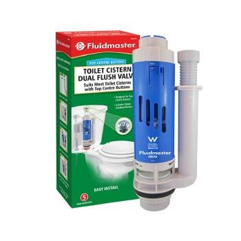Fluidmaster Valve 55mm Shank D/Flush
