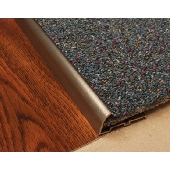 Edge Carpet Nap Lock Trim Brz 1M