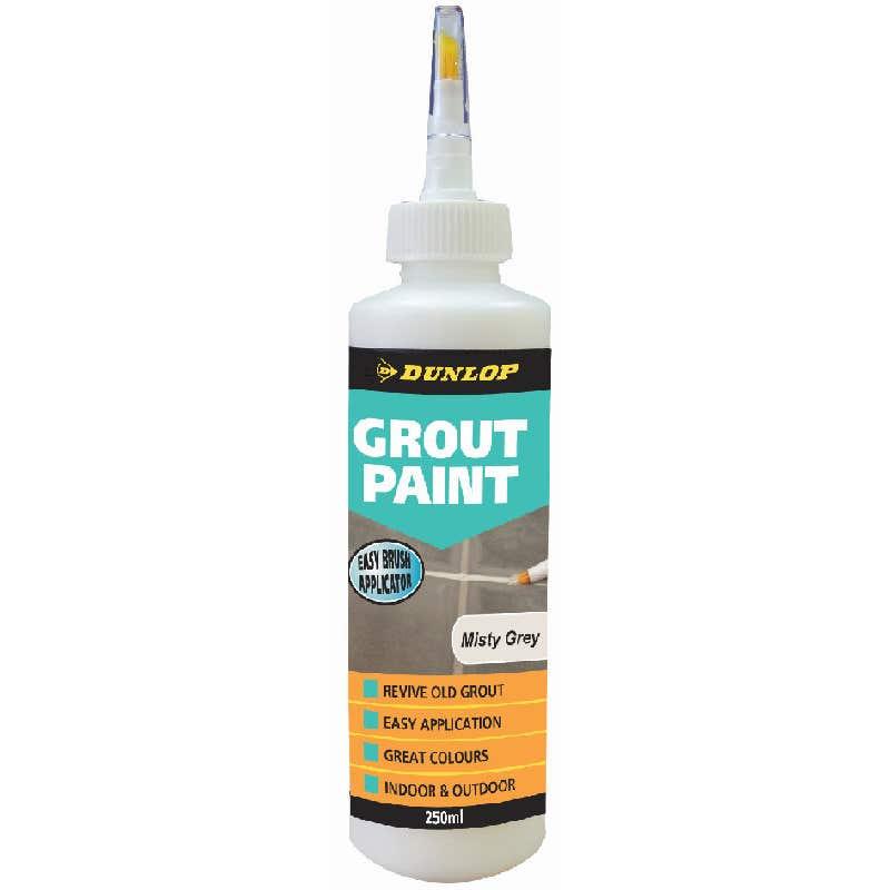 Dunlop 250 ML Grout Paint Misty Grey