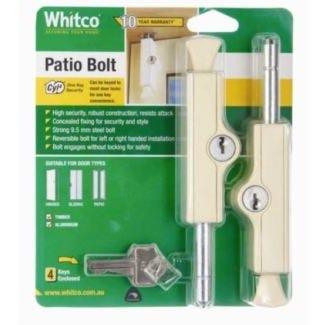 Bolt Patio Prm Pk2 Whitco