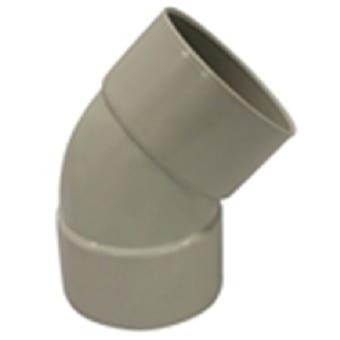 Holman PVC DWV Bend Plain 50mm 45 Deg