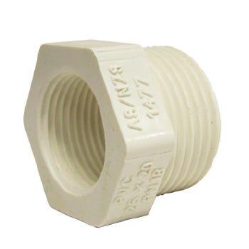 Holman PVC Pressure Screwed Bush 20 x 15mm