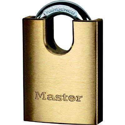 Master Lock Shrouded Padlock Brass 40mm