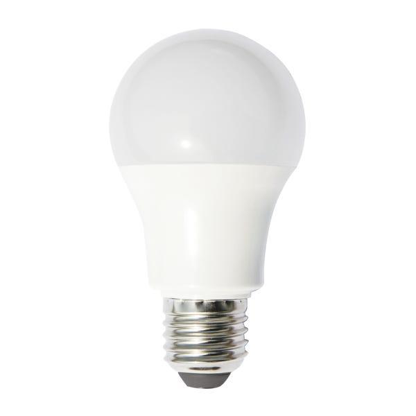 Buy Right® 9.5W LED Edison Screw Warm White GLS Globe Pack 4