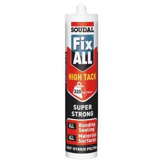 Soudal Fix All High Tack Sealant Invisible 290ml
