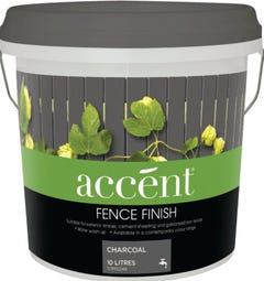 accent® Fence Finish 10L Charcoal