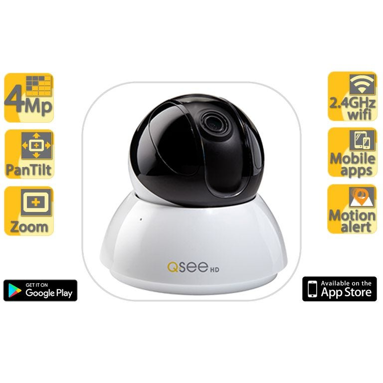 Q-See In-Home PTZ Security Camera