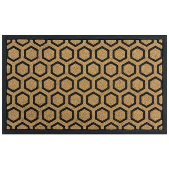 Acadia Hexagon Outdoor Mat