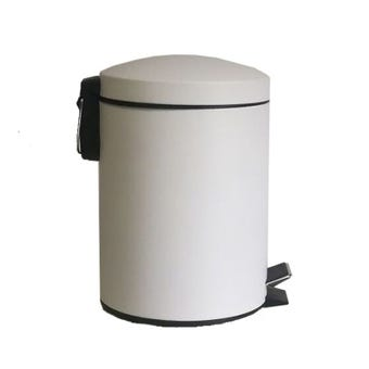 Queen Soft Close Metal Pedal Bin