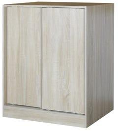 Faulkner 1200(H)mm 2 Sliding Door, 3 Shelves Wardrobe