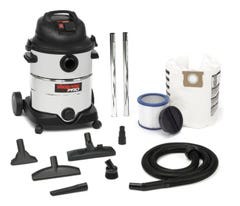 Shop Vac Pro40L 1400W S/S Wet/Dry Vacuum With Power Take Off