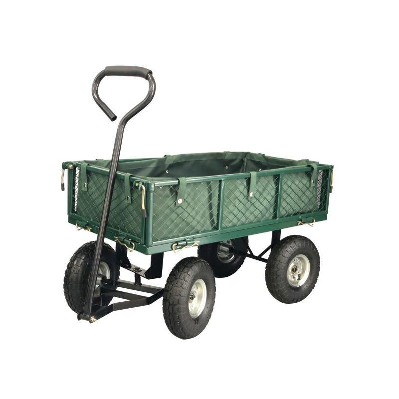 Kaart Steel Mesh Garden Cart