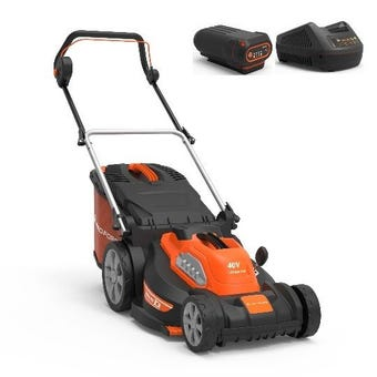 Yard Force 40V Lawn Mower 16 Inch Kit LM G40A